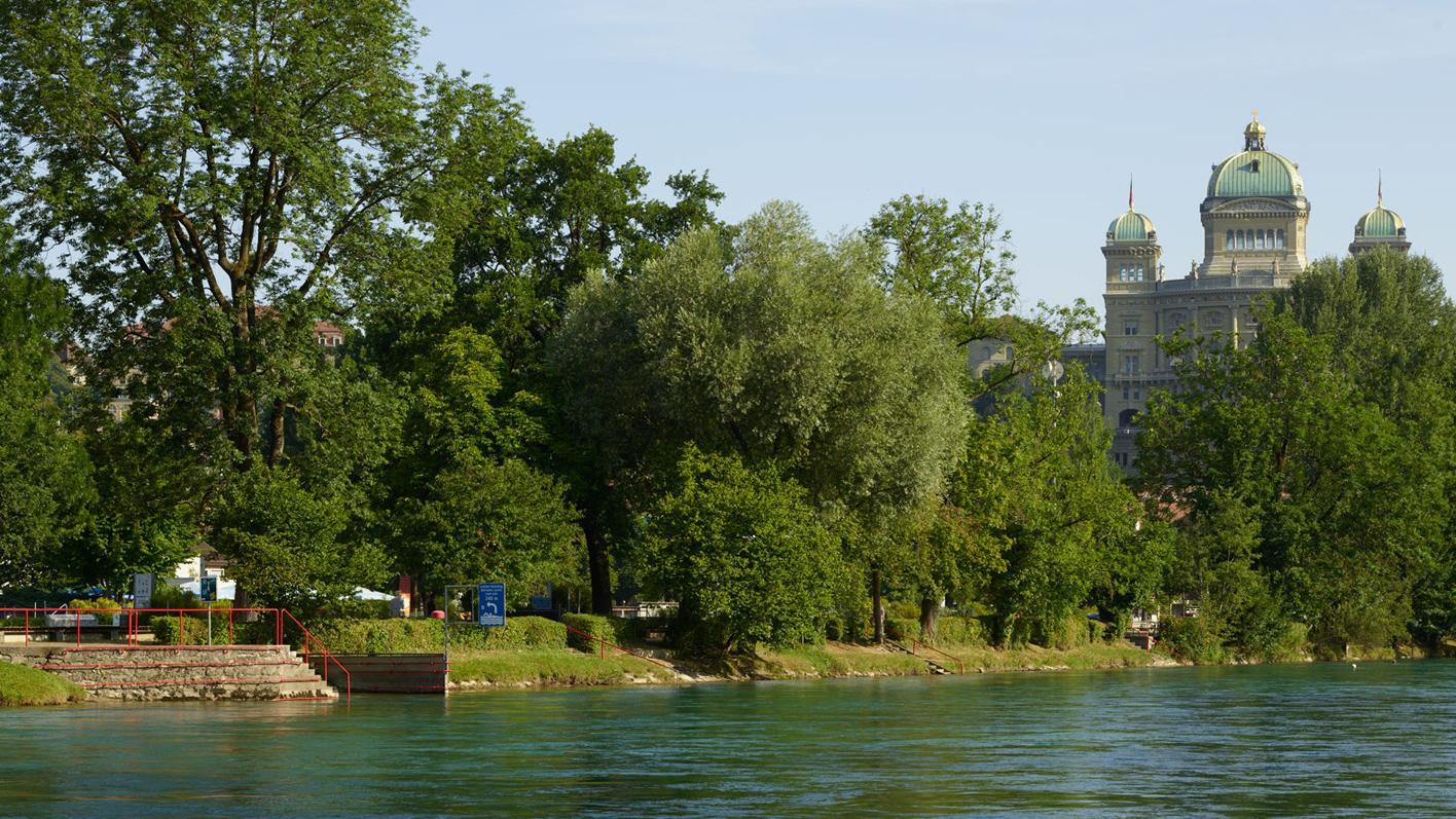 Ausflugstipps – die schönsten Flussbäder der Schweiz