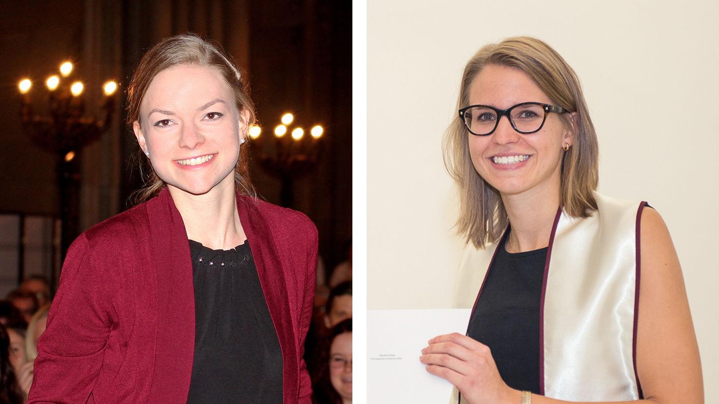 TopPharm Preisträgerinnen 2017: Fabienne Luzi und Sandra Gobat