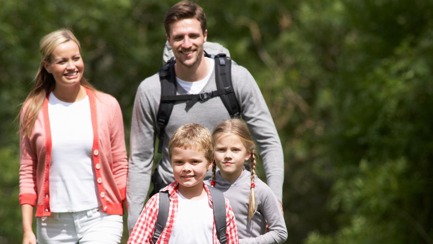 Abwechslungsreiche Wanderungen für die ganze Familie