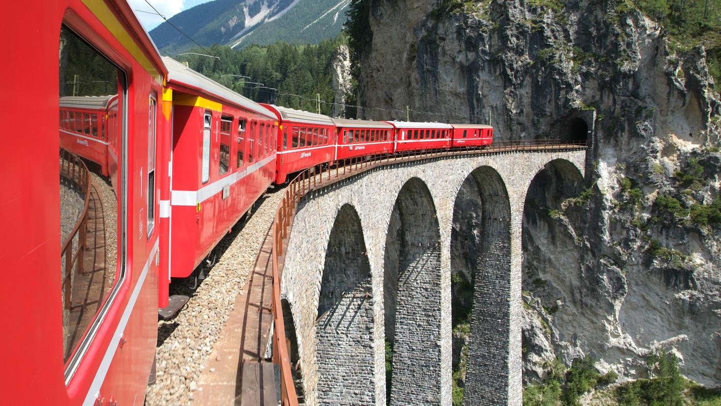 Spektakuläre Zugfahrten für die ganze Familie