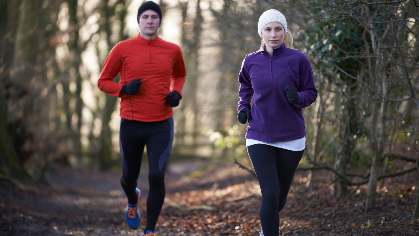 Fitness während der kalten Jahreszeit