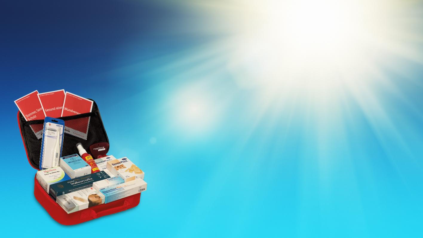 Medikamente müssen vor Hitze und praller Sonne geschützt werden