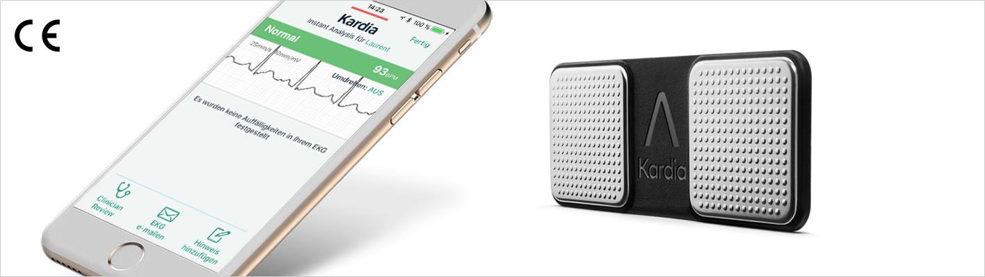 Kardia Mobile – 1-Kanal-EKG von AliveCor