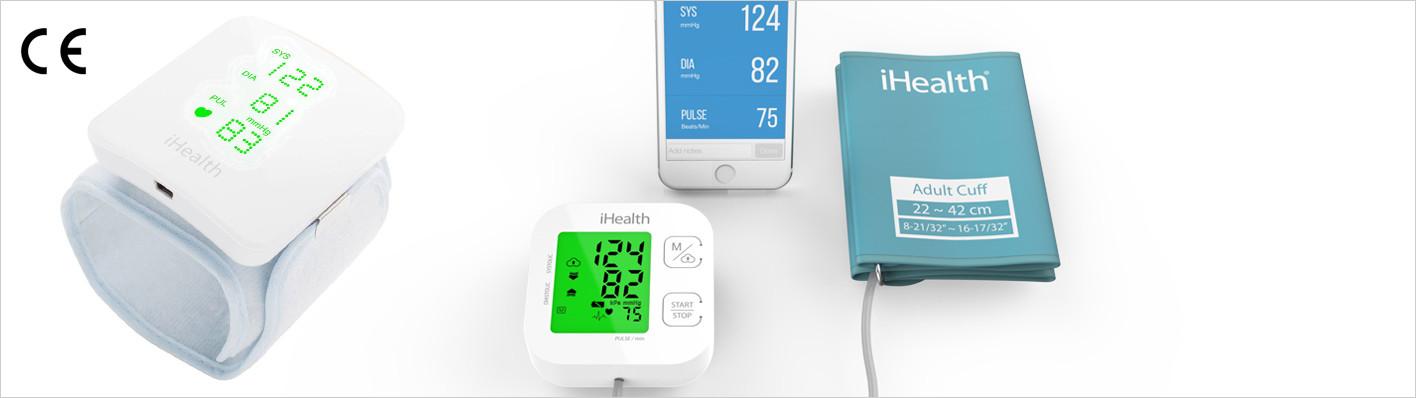 iHealth View und Track – vernetzte Blutdruckmessgeräte