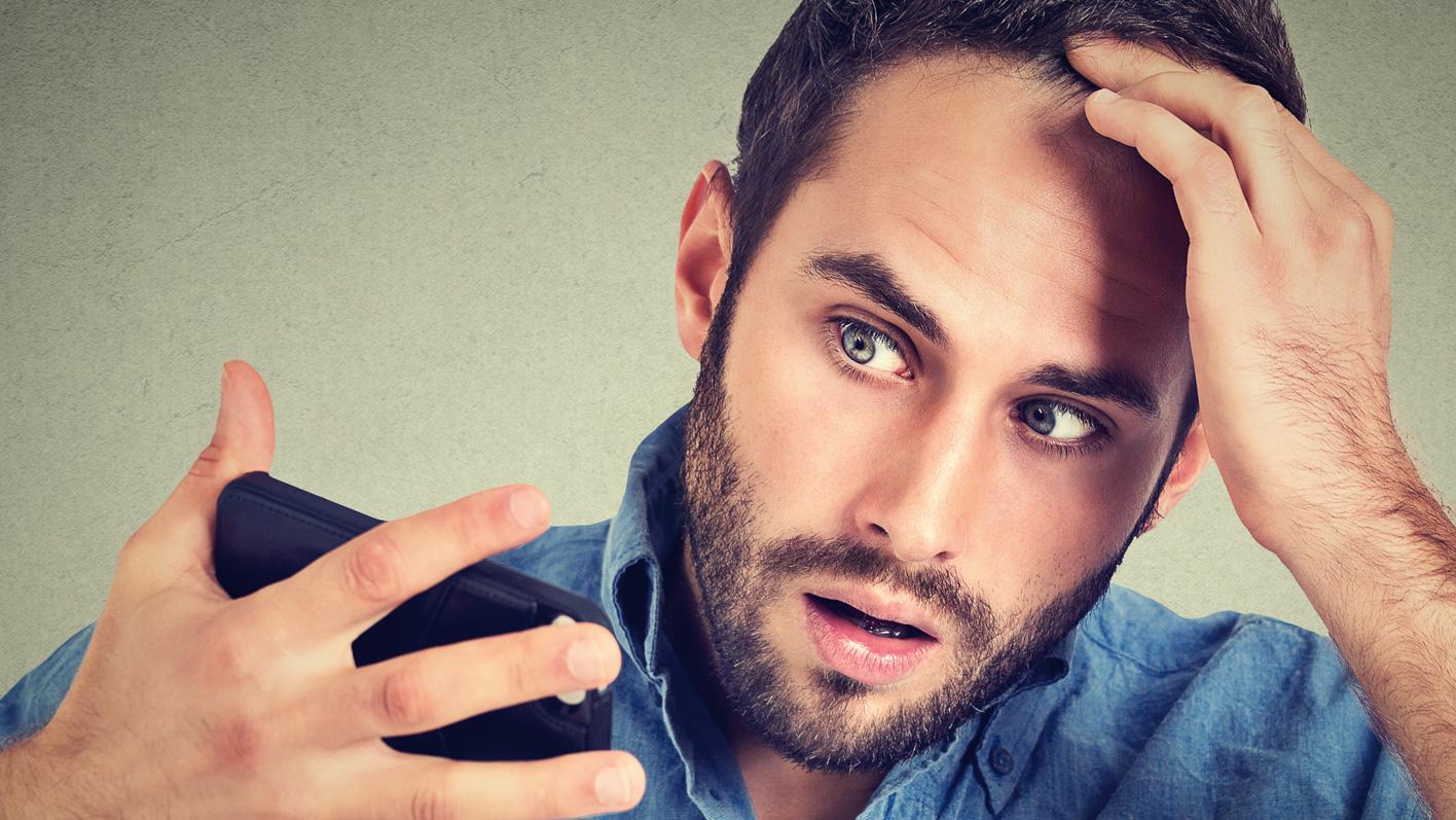 Haarausfall bei Männern: Wenn eine Glatze droht, sollte die Vorbeugung früh beginnen