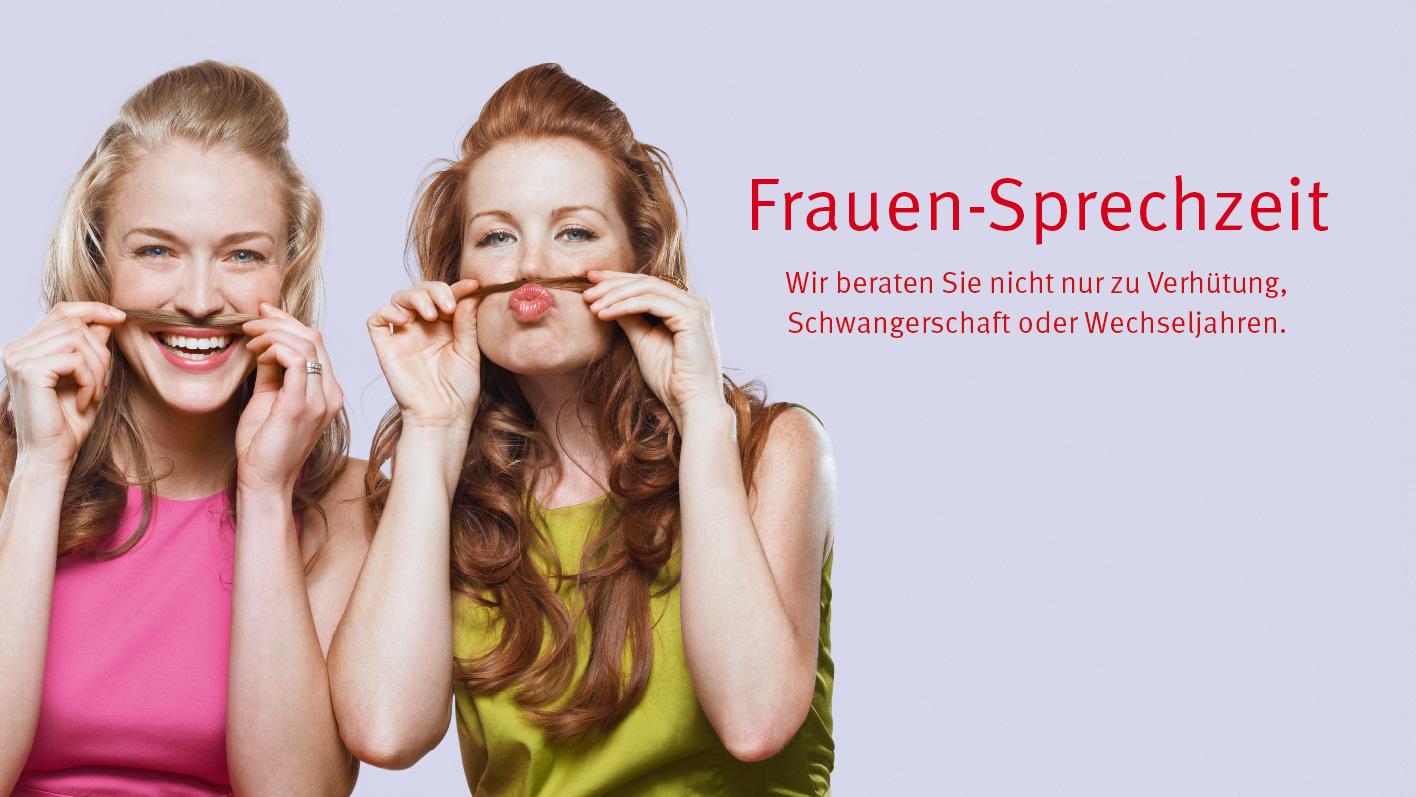Kampagne «Frauen-Sprechzeit» vom 17. März bis 14. April 2016