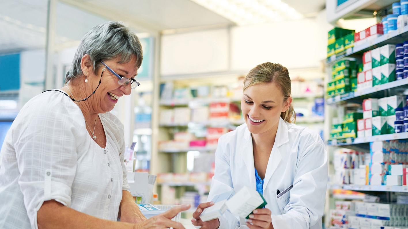 Polymedikations-Coaching bei mehrfacher Medikamenteneinnahme