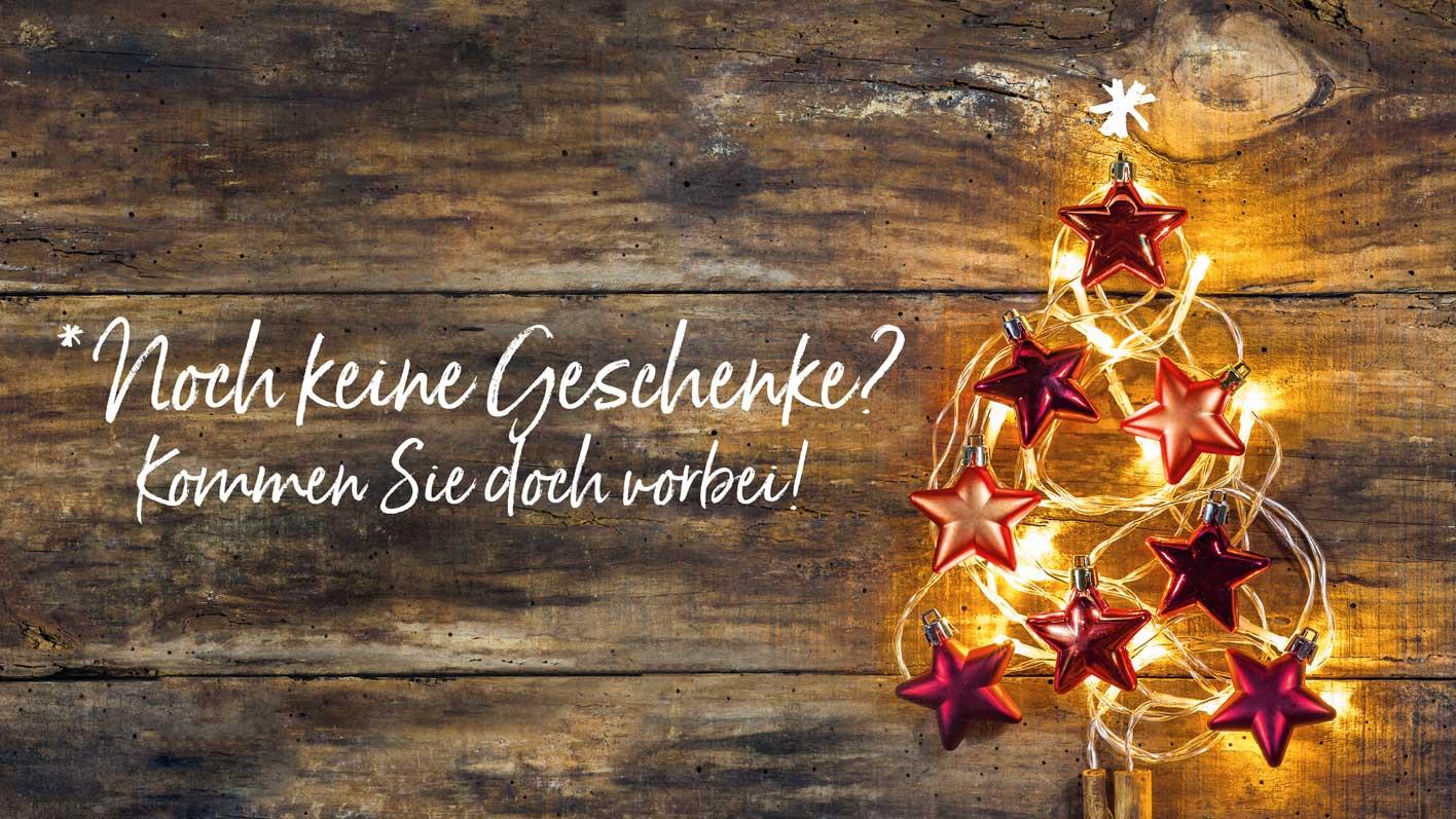 Noch keine Geschenke? Kommen Sie doch vorbei! | toppharm.ch