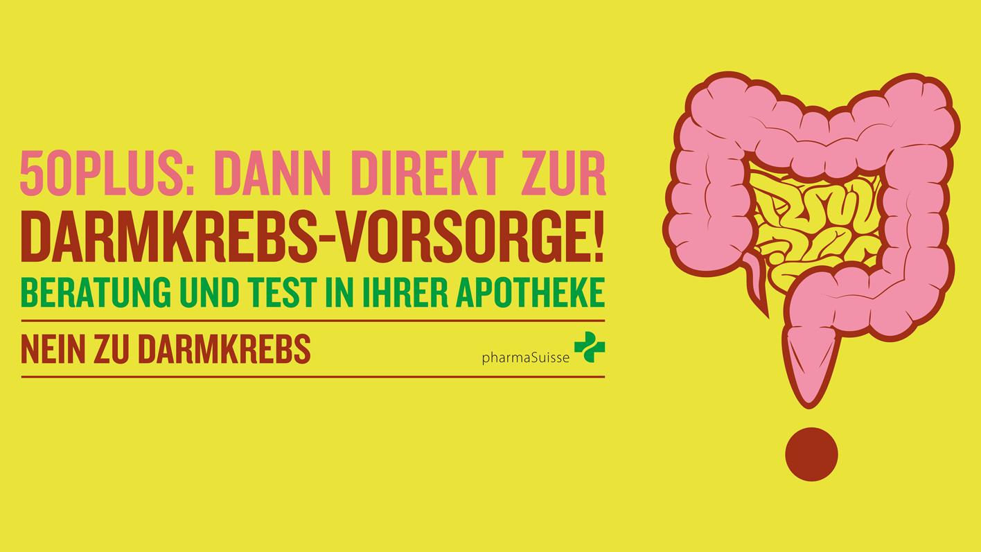 Bis 14.4.2018 - Darmkrebs-Vorsorgetest in den TopPharm Apotheken