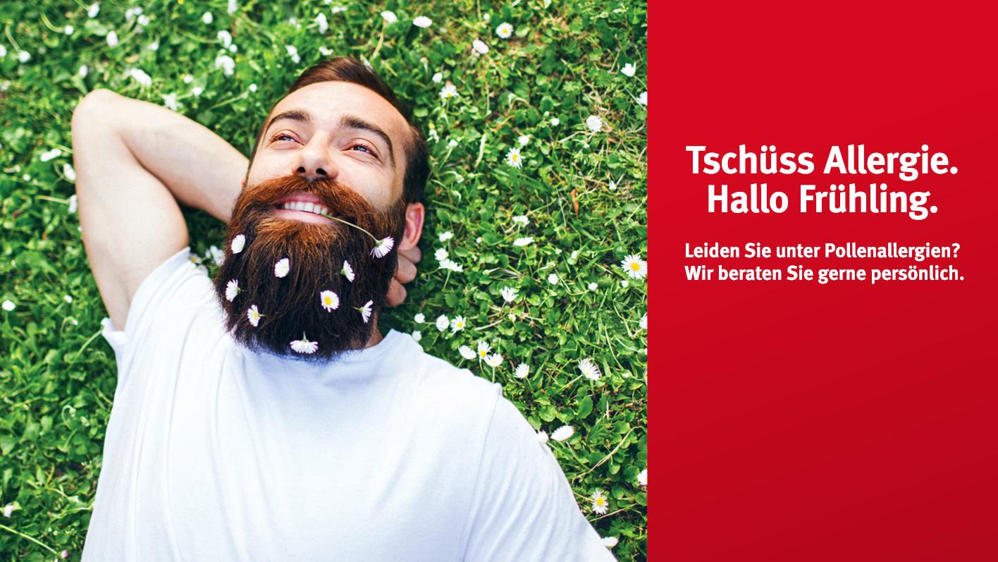 Tschüss Allergie. Hallo Frühling / TopPharm Apotheke / Ihr Gesundheits-Coach