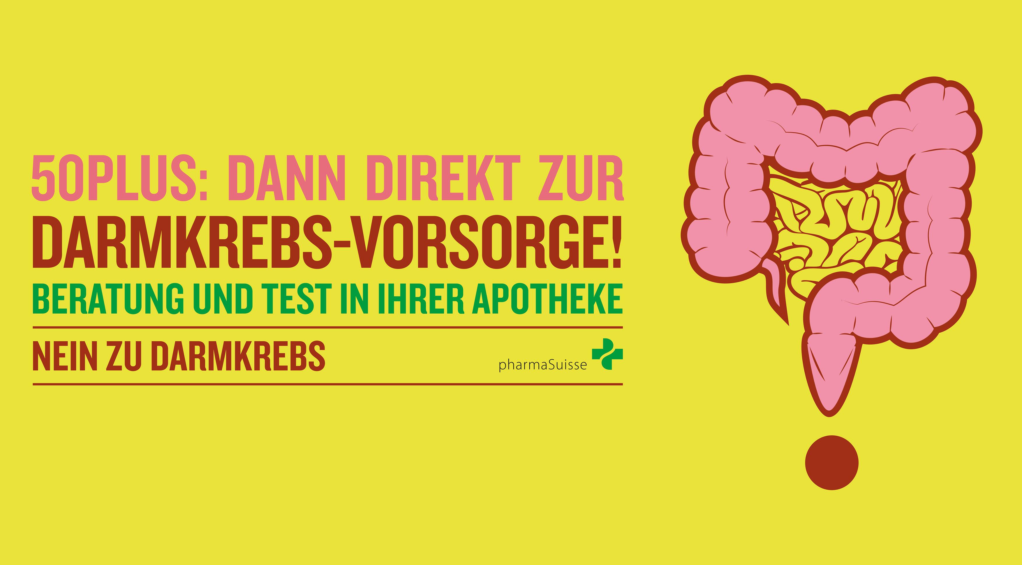 In der Schweiz erkranken pro Jahr rund 4100 Menschen an Darmkrebs, grossmehrheitlich Menschen ab dem 50. Lebensjahr