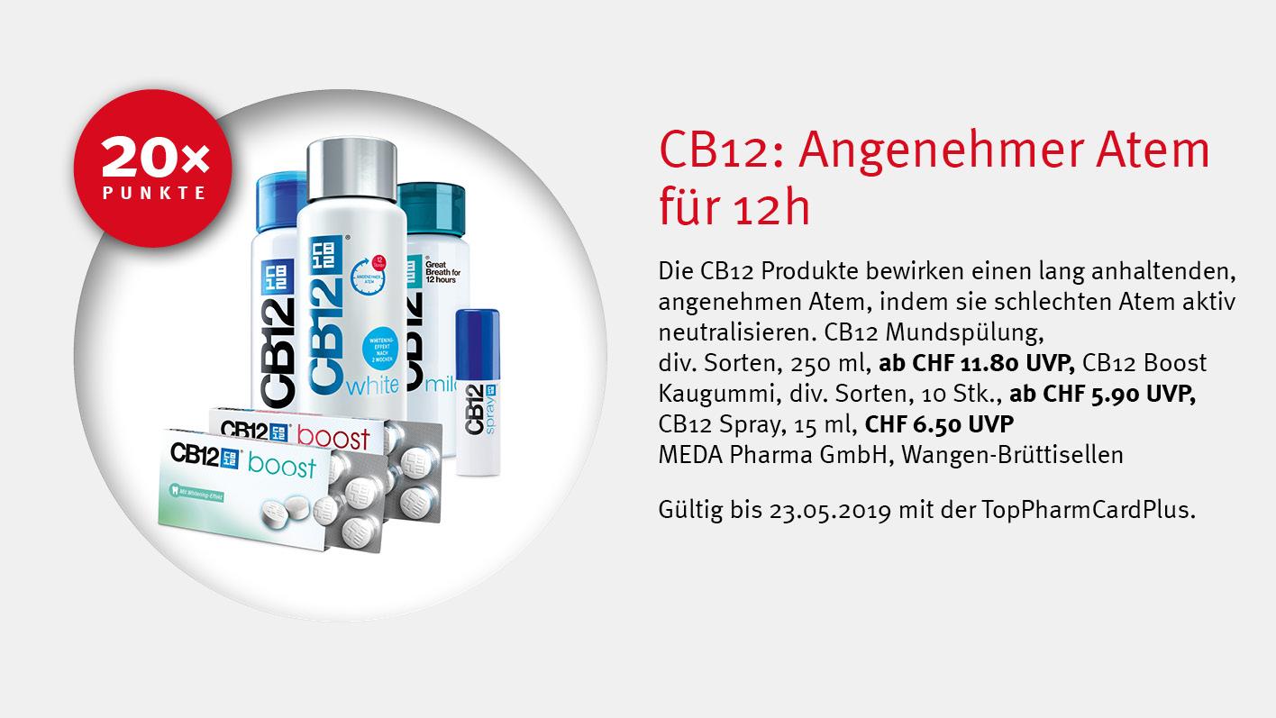 CB12 / TopPharm Apotheke / TopPhamCardPlus Angebote