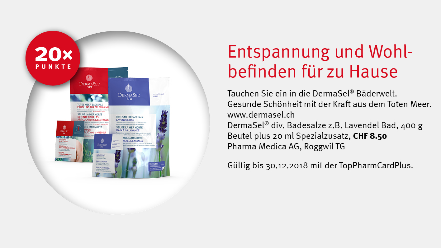 DermaSel® / Medica AG / TopPharm Apotheke / Ihr Gesundheits-Coach