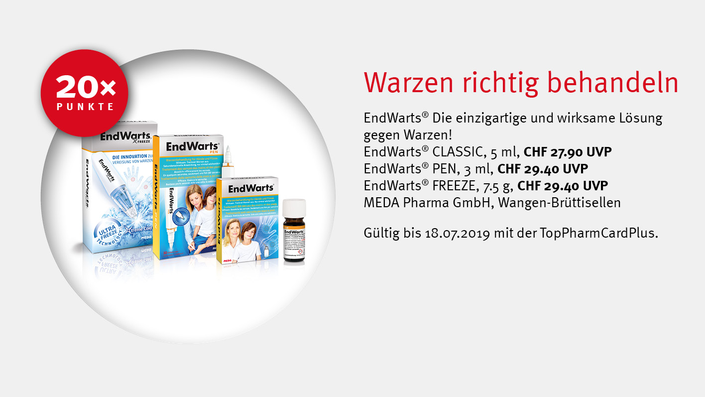 EndWarts / TopPharm Apotheke / TopPhamCardPlus Angebote