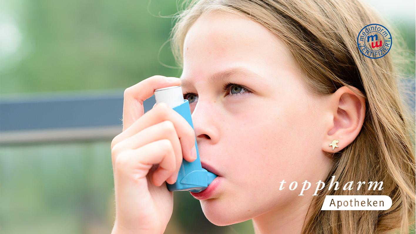 Gesundheitsprogramm bei Asthma / TopPharm / Ihr Gesundheits-Coach