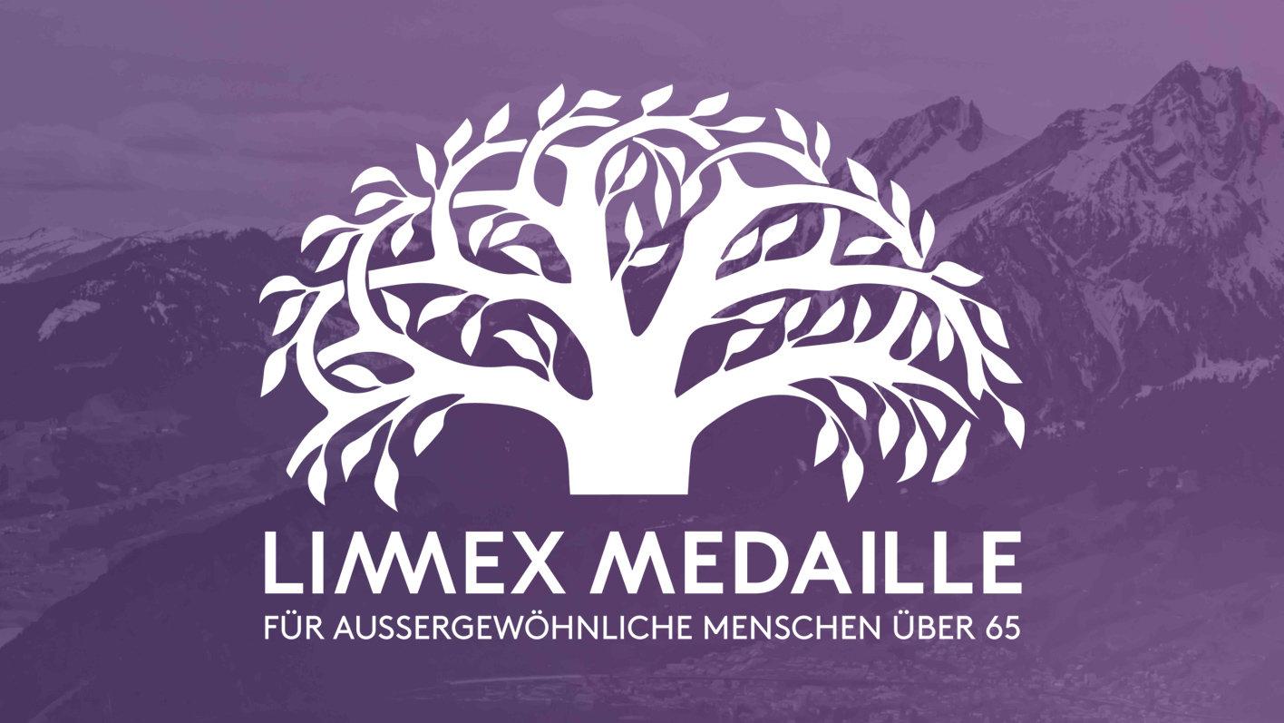 Die Limmex Medaille ist eine Auszeichnung für aussergewöhnliche Menschen über 65 Jahre