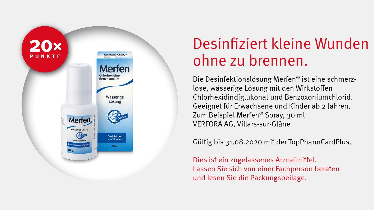 Angebote TopPharmCardPlus - Merfen