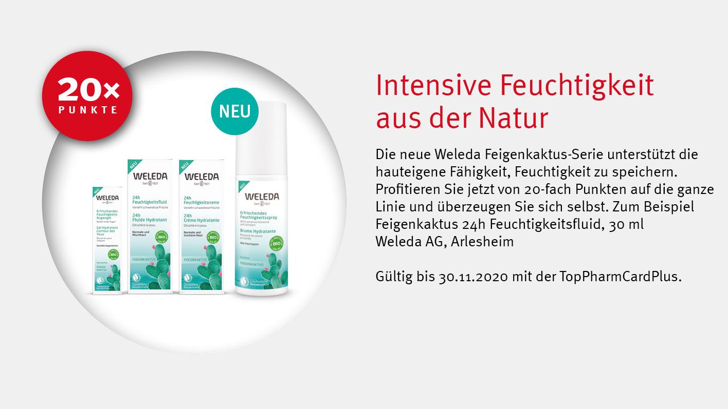 Angebote TopPharmCardPlus - Weleda Naturkosmetik