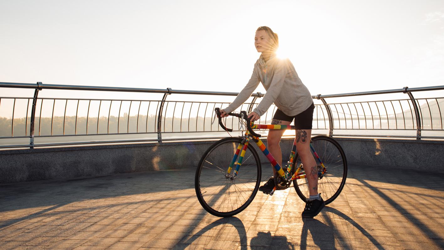 Bringen Sie Bewegung in den Alltag - Sport im Frühling ist gesund