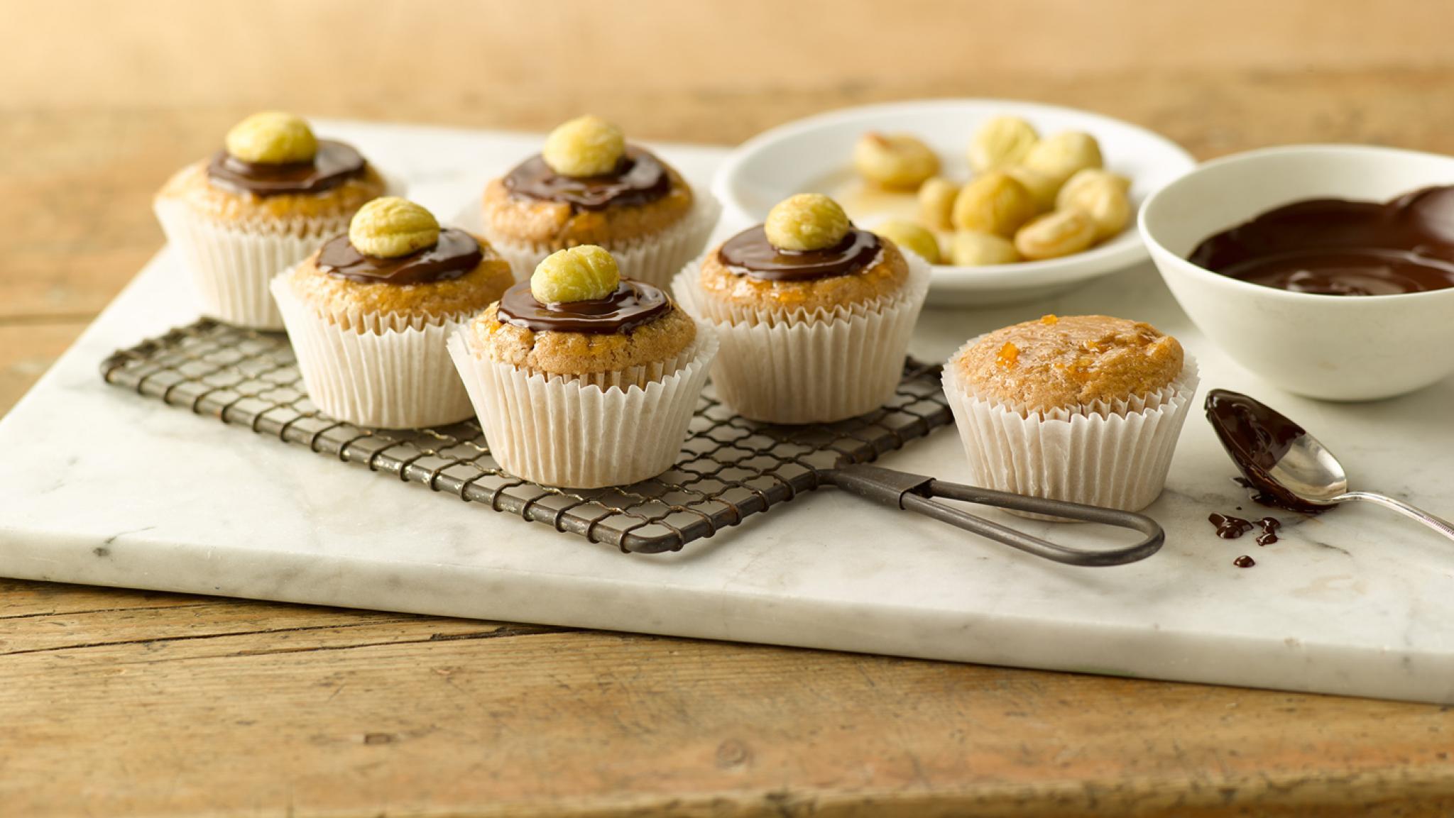 Marroni-Muffins