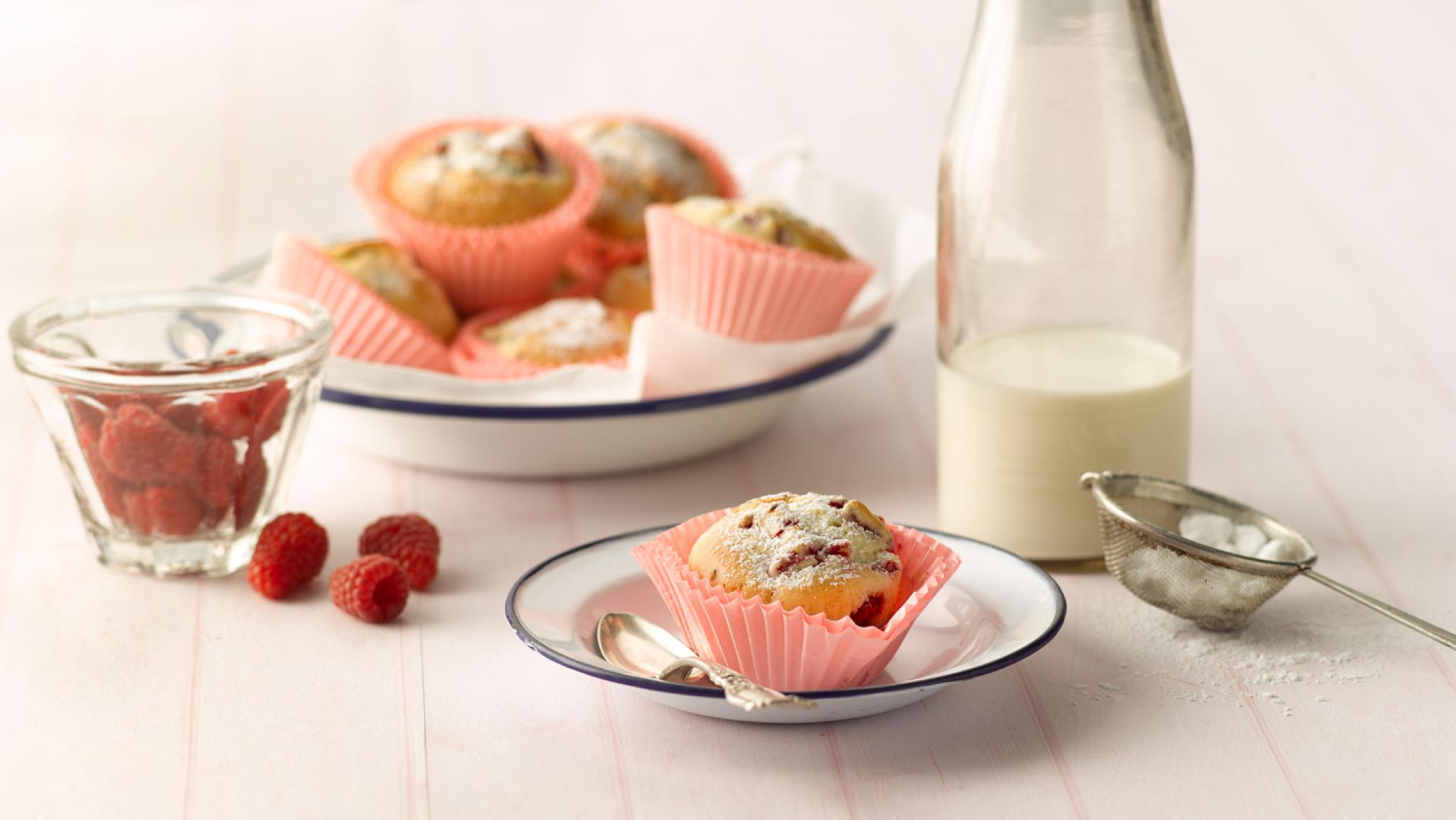 Ricotta-Himbeer-Muffins