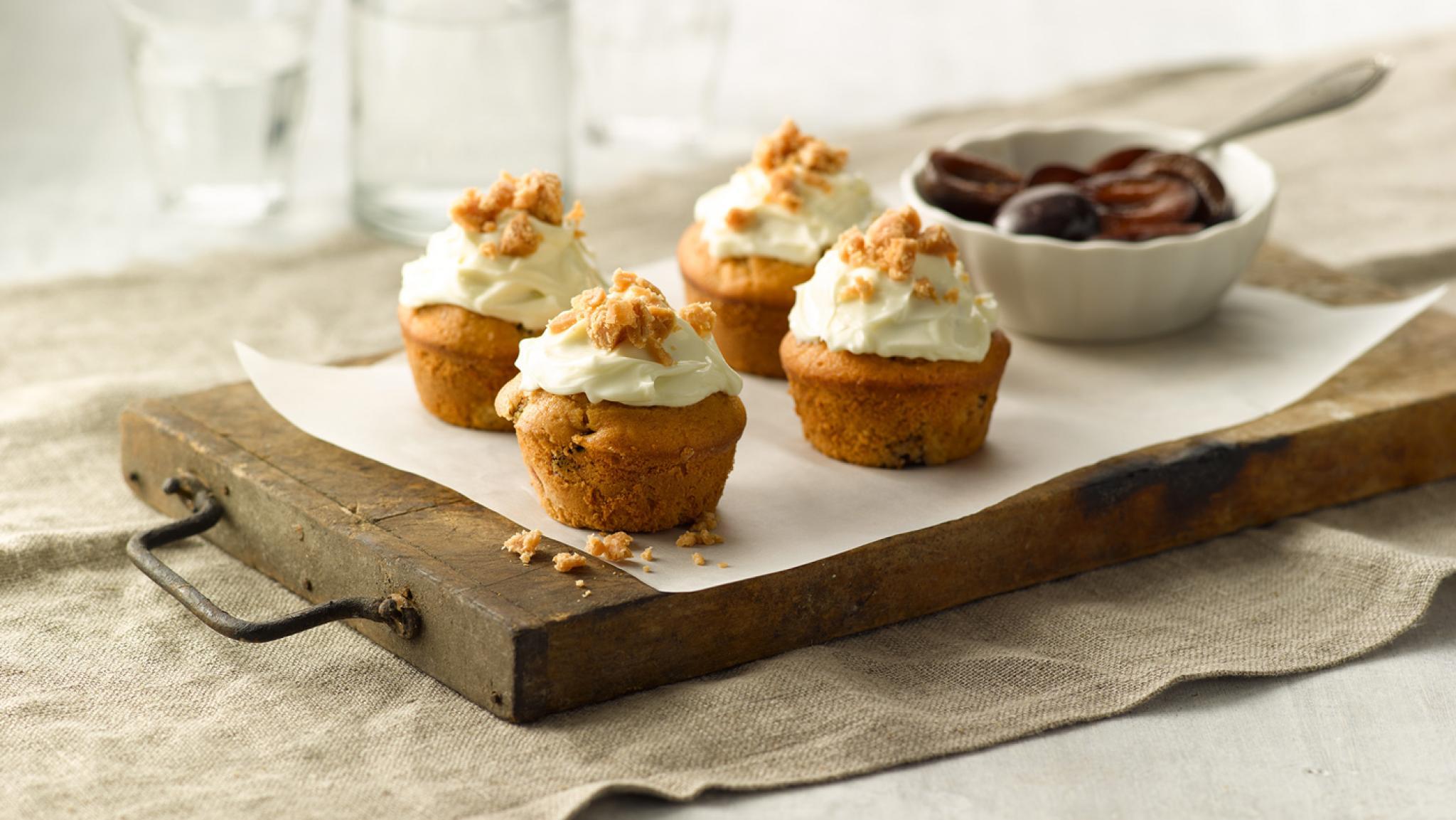 Zwetschgen-Muffins mit Caramel