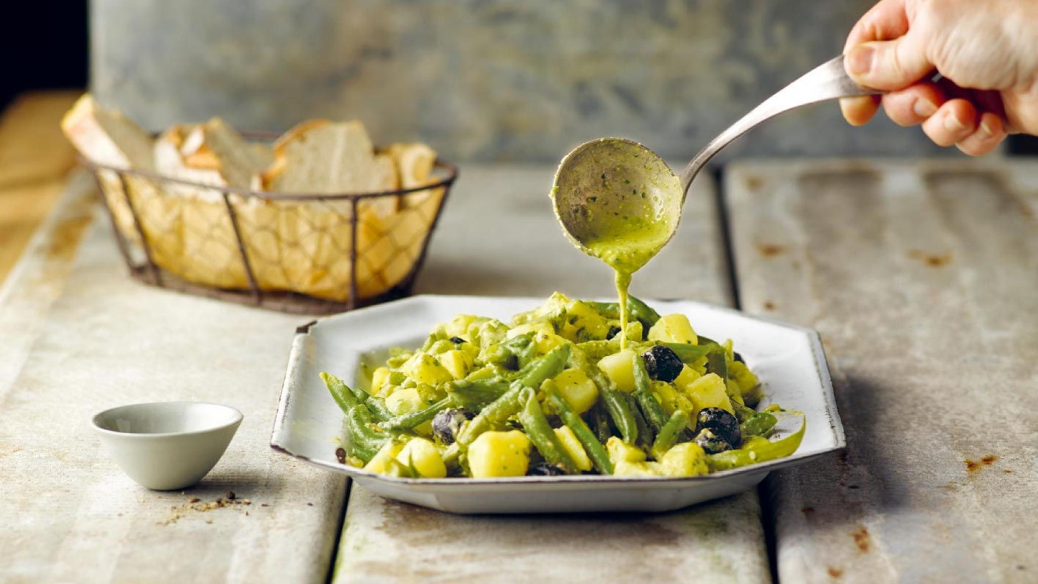 «Grüner» Bohnen-Kartoffel-Salat