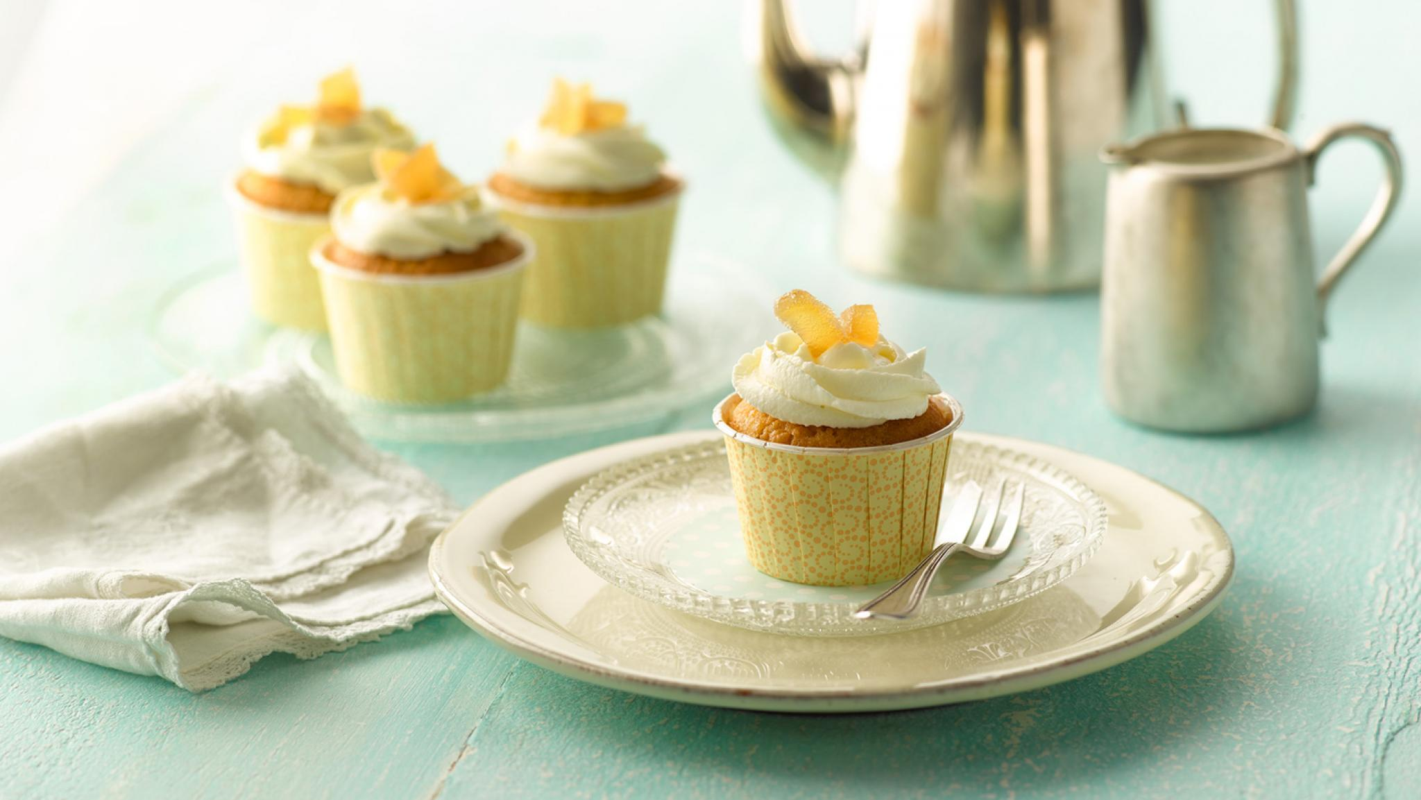 Honig-Ingwer-Muffins