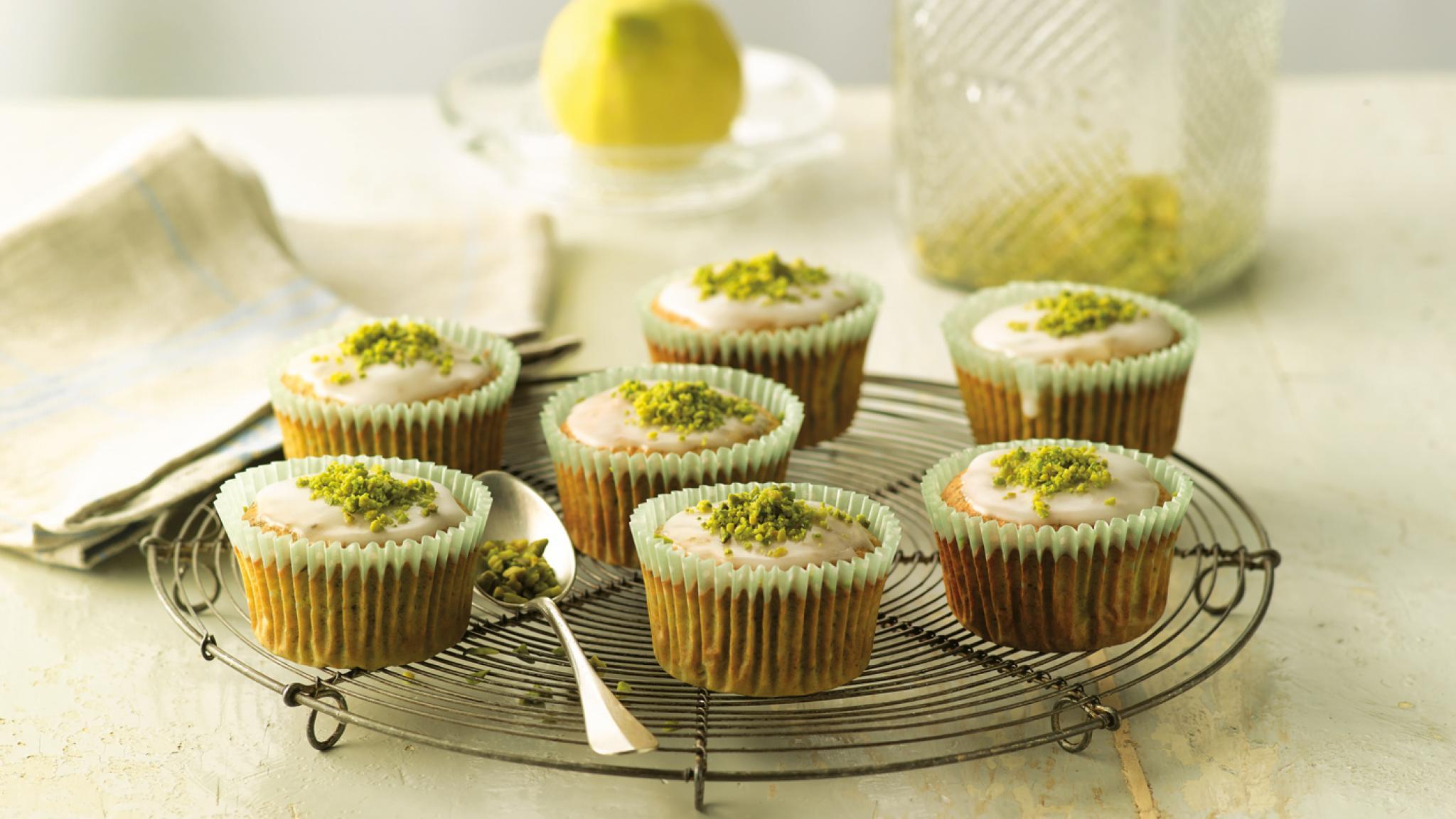 Pistazien-Honig-Muffins
